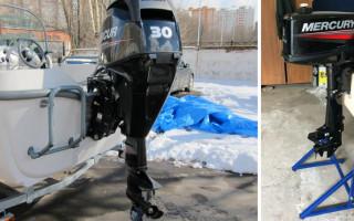 Подготовка и консервация лодочного мотора на зиму