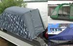 Тент на катер: виды, применение, материалы для изготовления