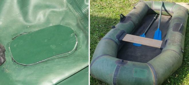 Как заклеить резиновую лодку — ремонт проколов, закрепление уключин