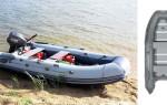Российская лодка Кайман 330 — описание, характеристики, цена и комплектация