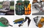 Аксессуары для ПВХ лодок — комплект поставки и что нужно докупить отдельно