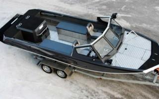 Алюминиевый катер Росомаха — описание моделей с характеристиками
