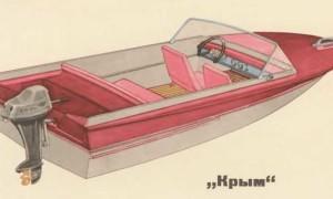 Технические характеристики и модификации лодки «Крым»