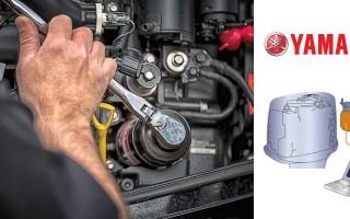 Диагностика и ремонт лодочных моторов Ямаха, этапы техобслуживания