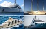 Яхты российских олигархов — Топ 20 больших и дорогих яхт