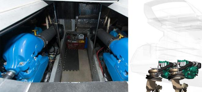Мотор на яхту — виды судовых двигателей, ведущие производители