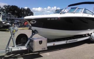 Как выбрать прицеп на катер или яхту, а также их разновидности, популярные модели и цены