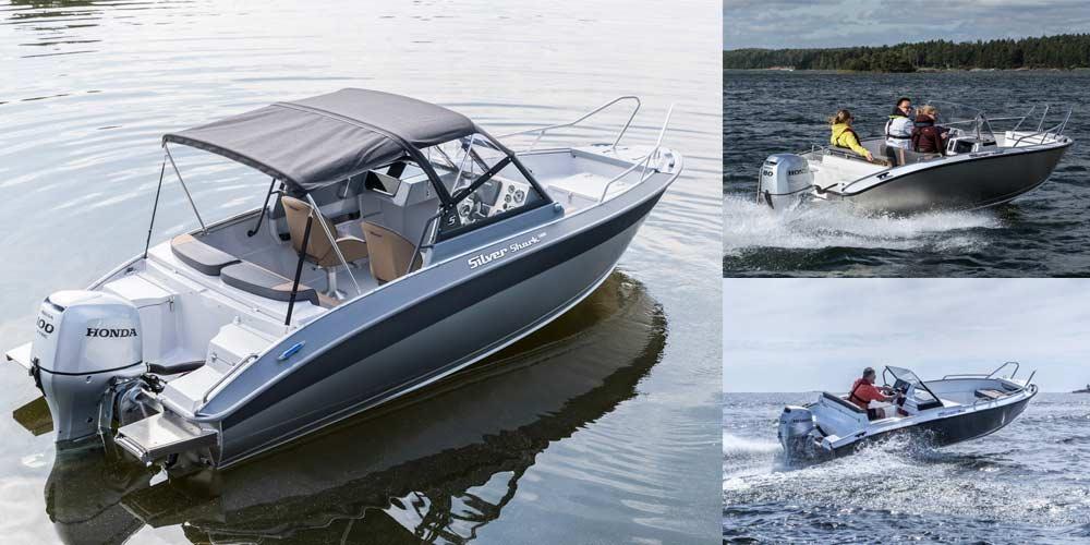 Катера Сильвер (катера Silver) - модельный ряд и характеристики