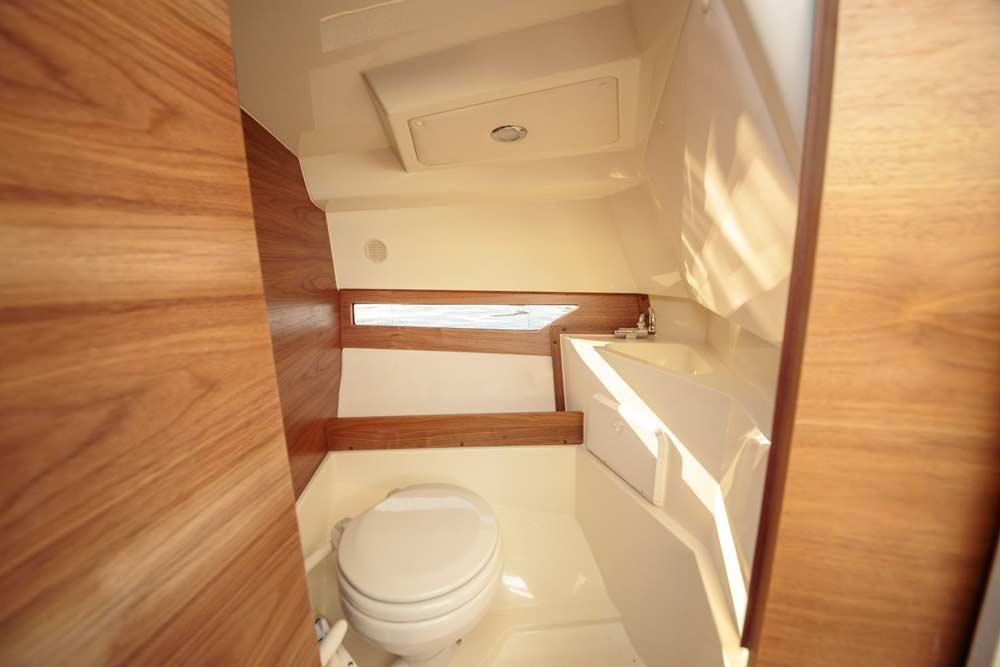 Вариант туалета на катере