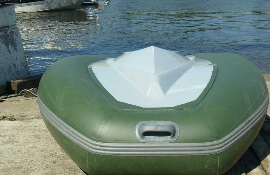 Самодельный киль на ПВХ лодку