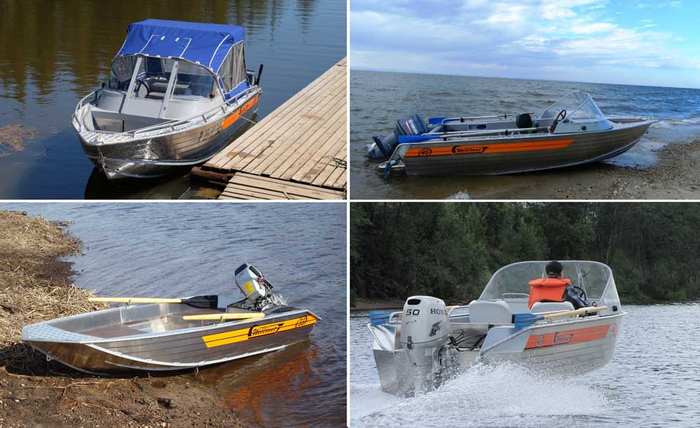 Алюминиевые катера Wellboat