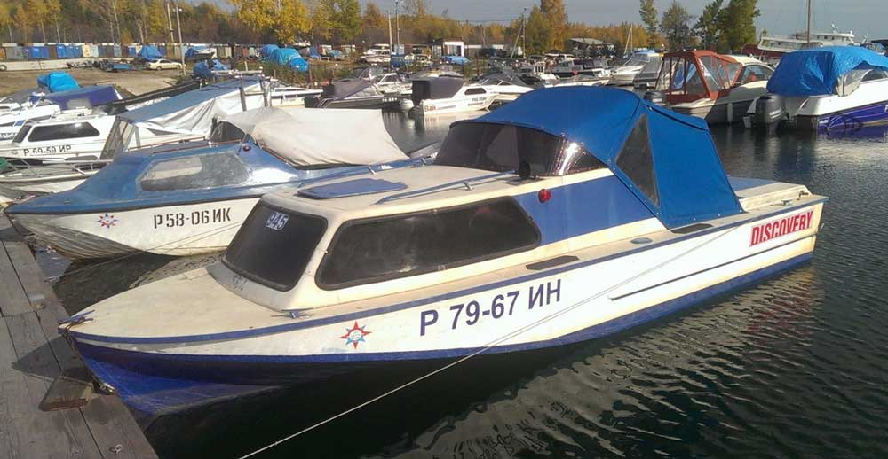 Фотографии катера Амур-2