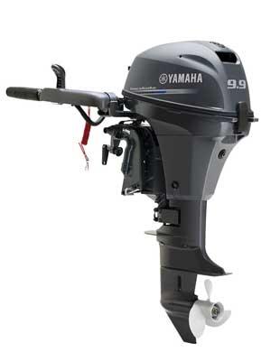 Четырехтактный лодочный мотор Yamaha F9,9