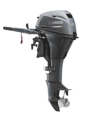 Четырехтактный лодочный мотор Yamaha F15
