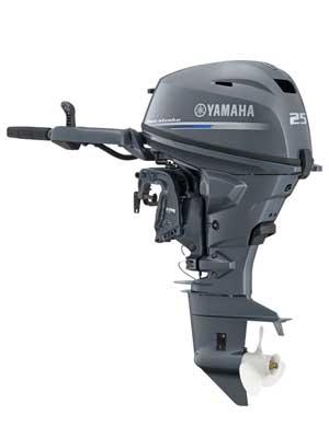 Четырехтактный лодочный мотор Yamaha F25