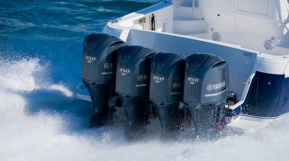 Мощные моторы Ямаха на лодку