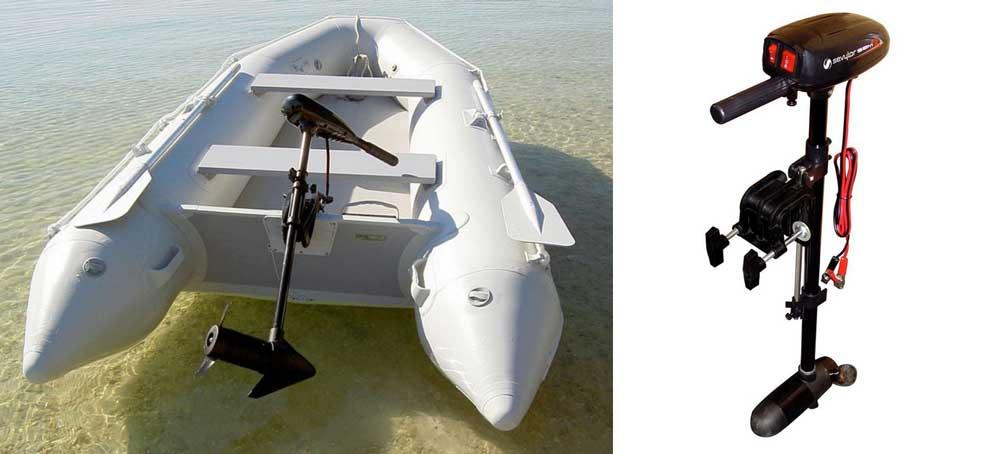 Что из себя представляет электромотор для лодки