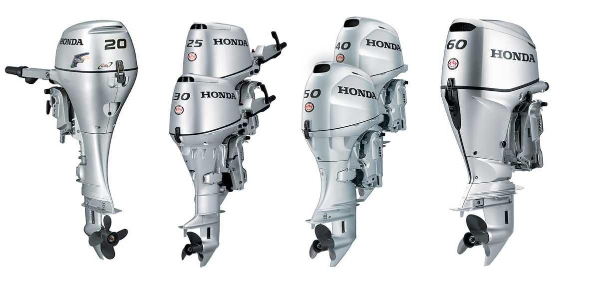 Моторы Хонда средней мощности