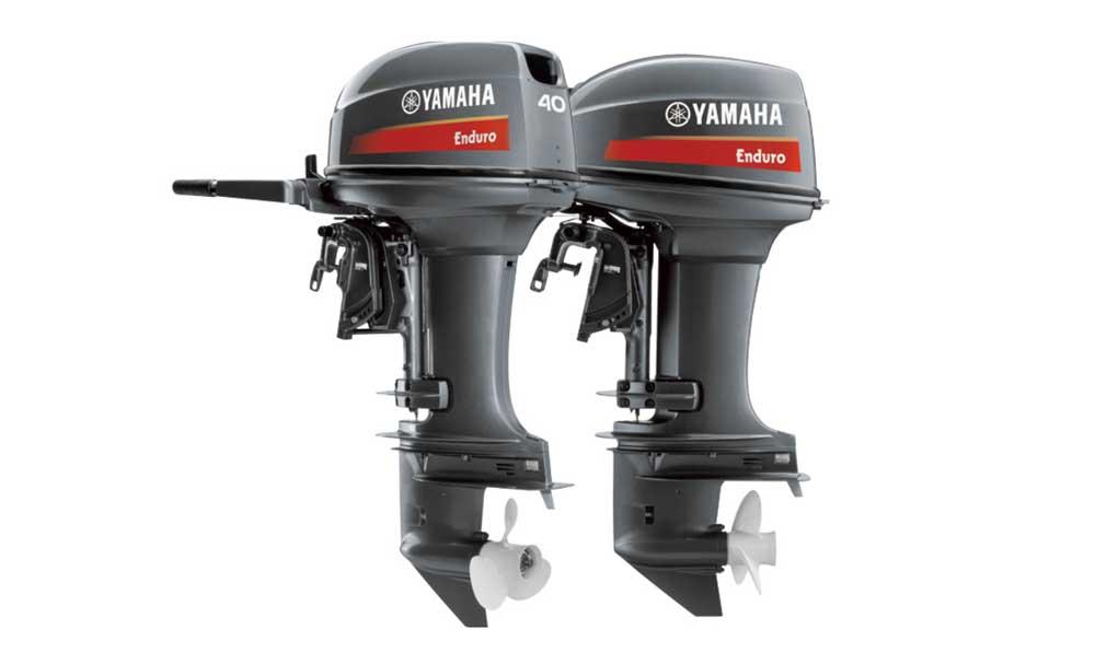 Двухтактные подвесные моторы для лодок Yamaha