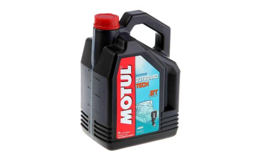 Масло для лодочных моторов Motul Outboard Tech 2т полусинтетика