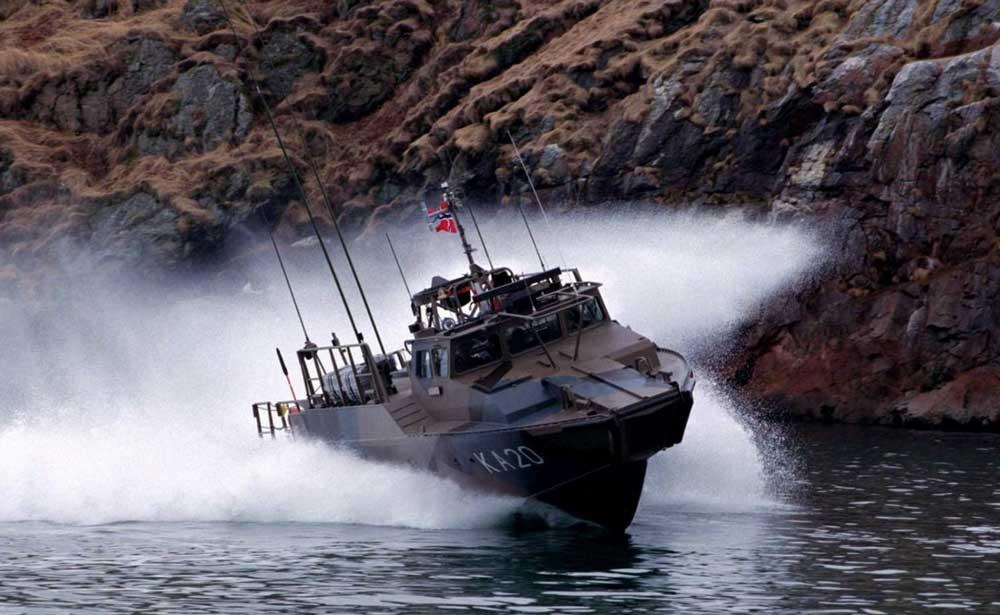 Военный катер Раптор