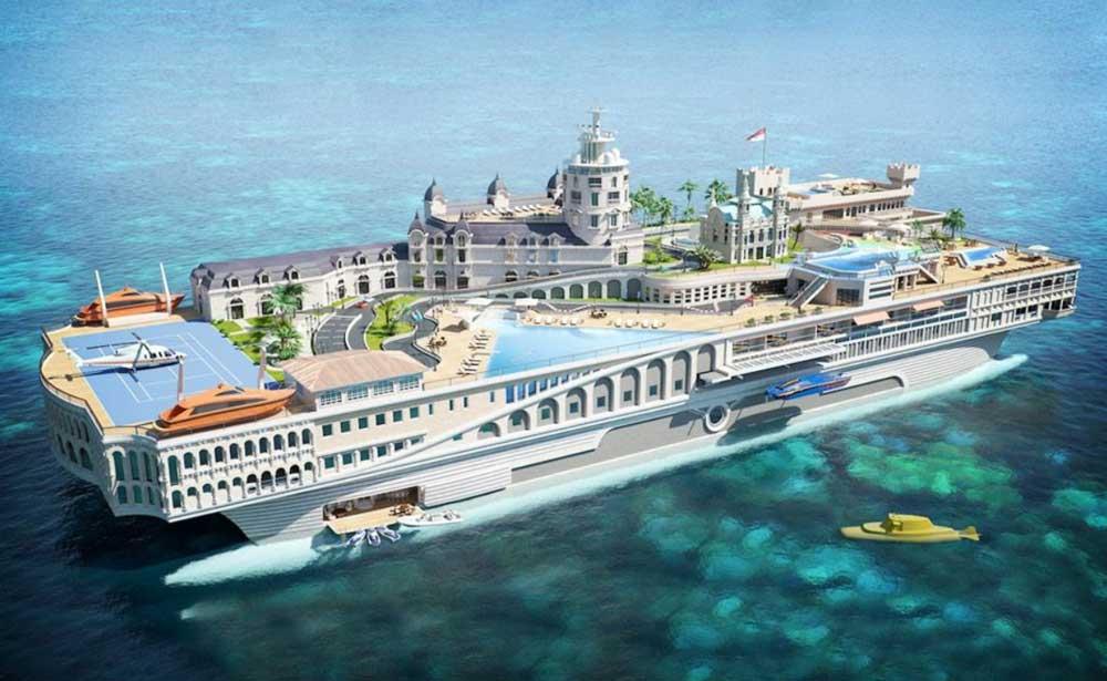 Яхта Streets of Monaco
