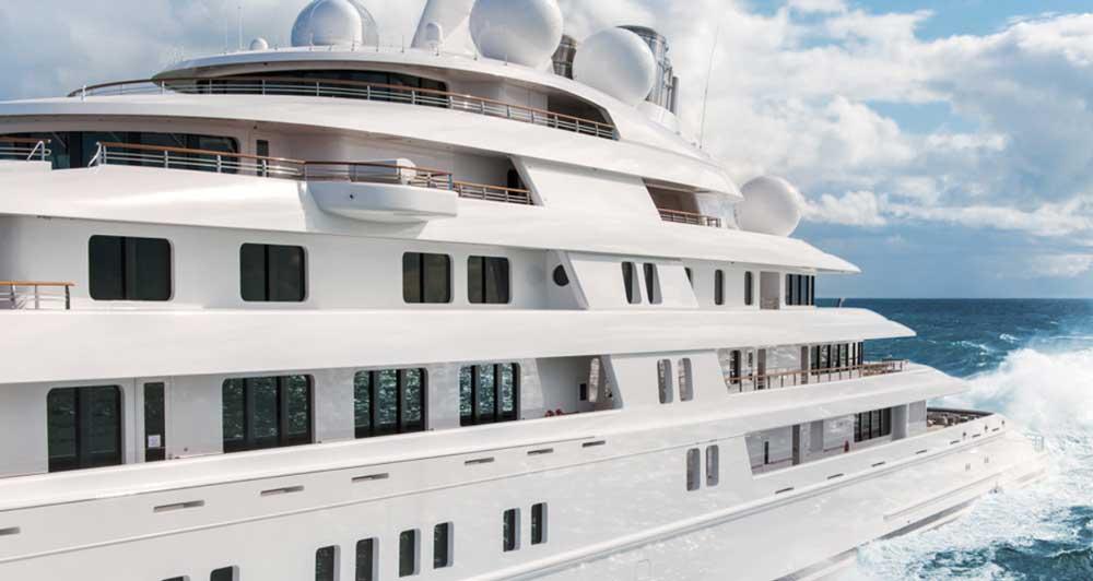 Яхта Azzam характеристики