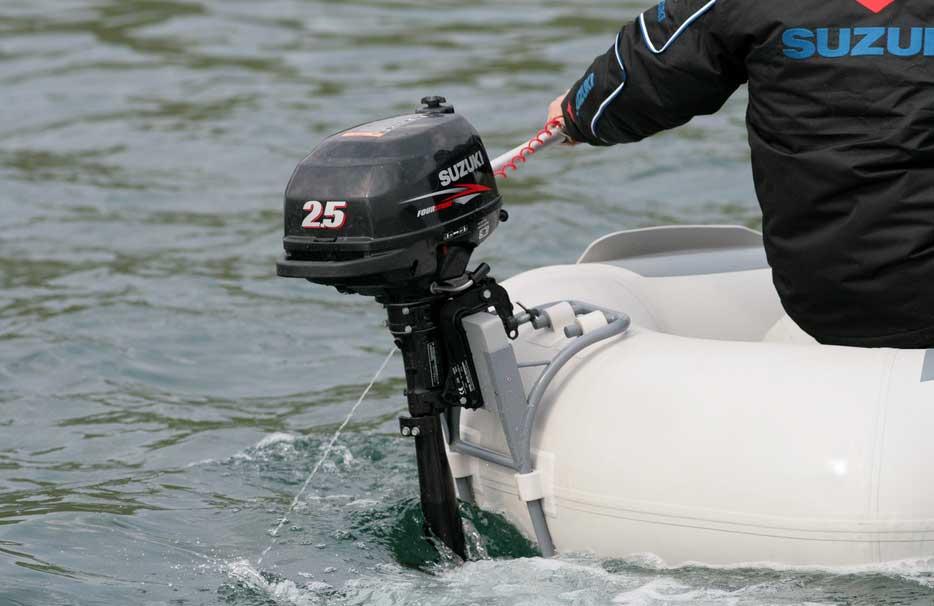 Двухтактные лодочные моторы на ПВХ лодку