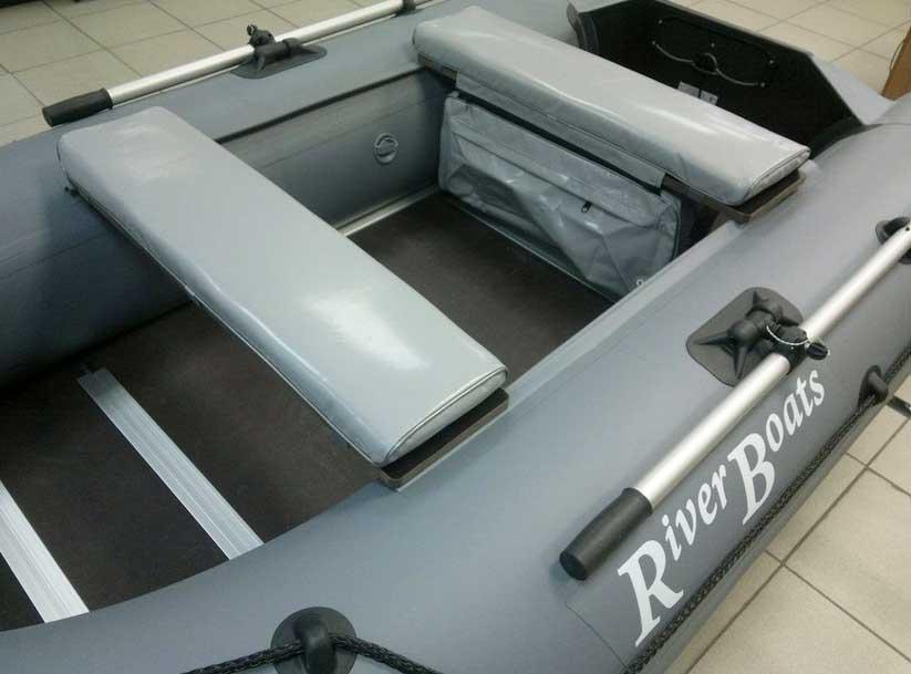 Мягкие накладки на банки в лодку