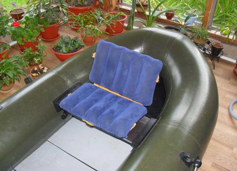Надувная накладка на банку в лодку
