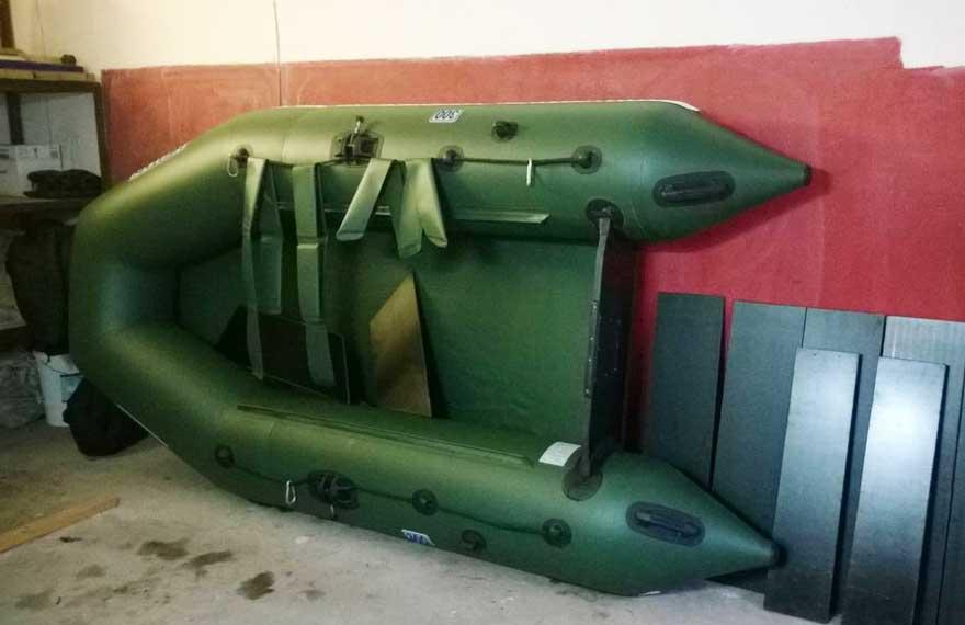 как хранить лодку из ПВХ зимой