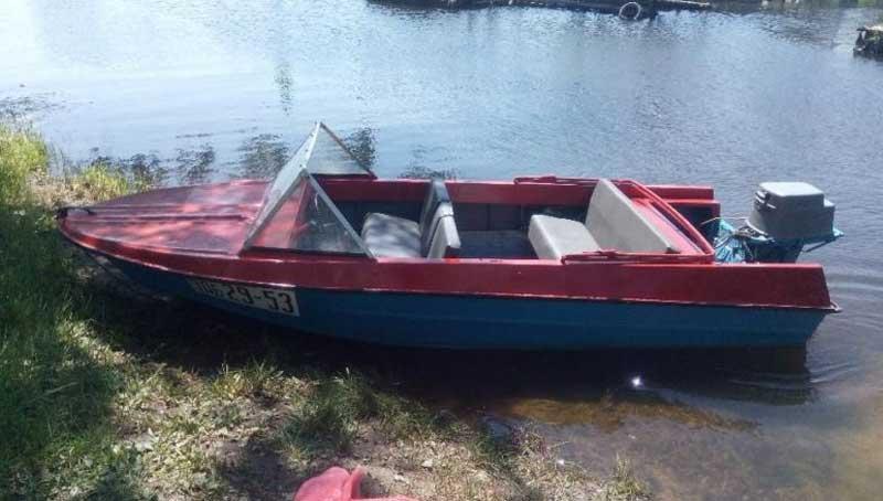 Двигатель для лодки Крым
