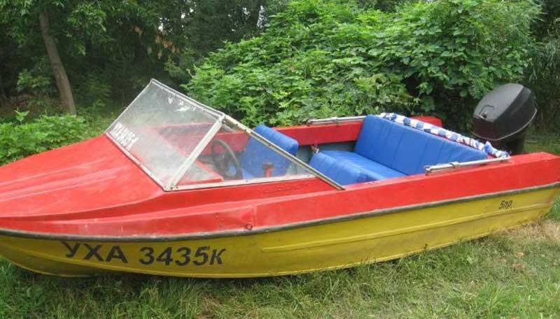 размеры лодки Крым
