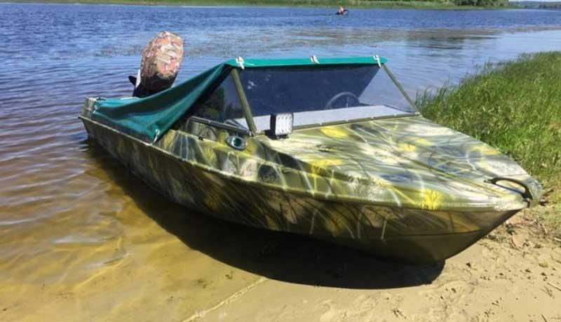 Обновленная лодка Крым