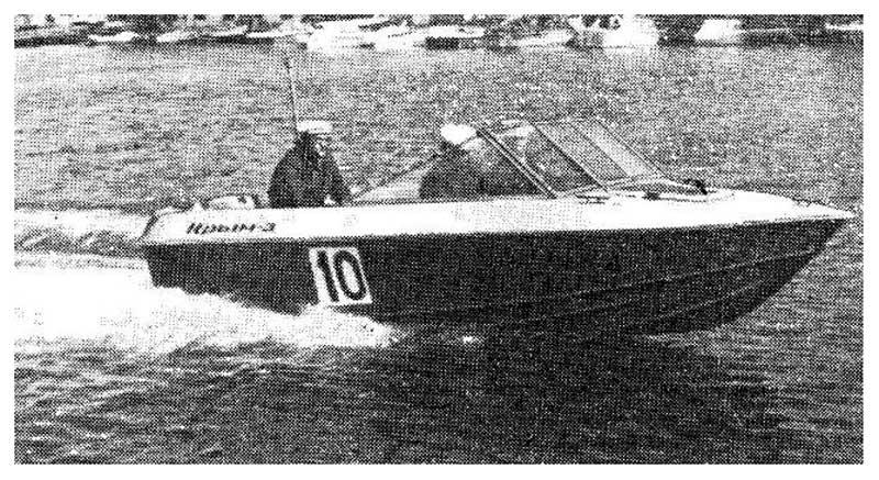 Технические характеристики лодки «Крым»