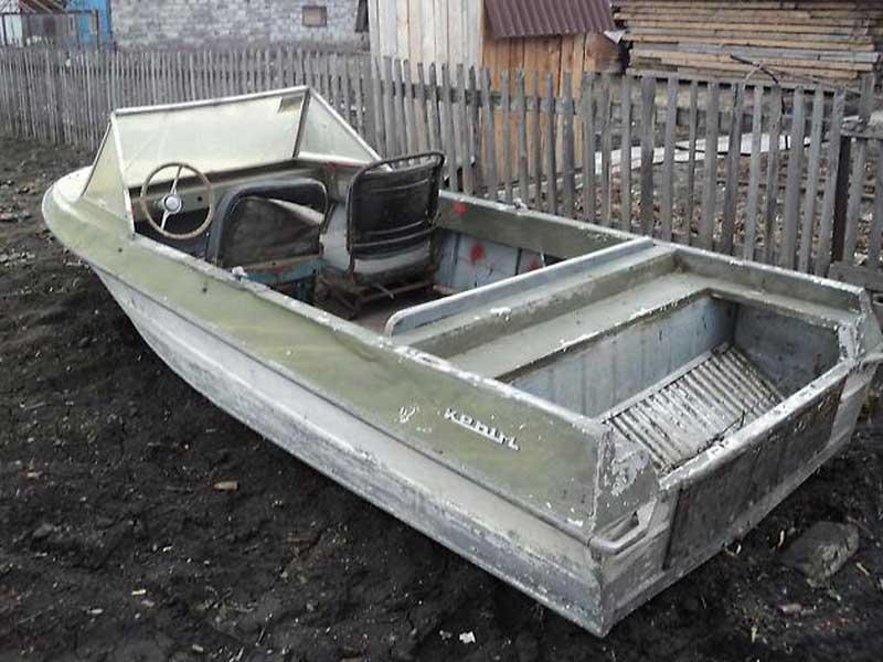 Фото лодки Крым