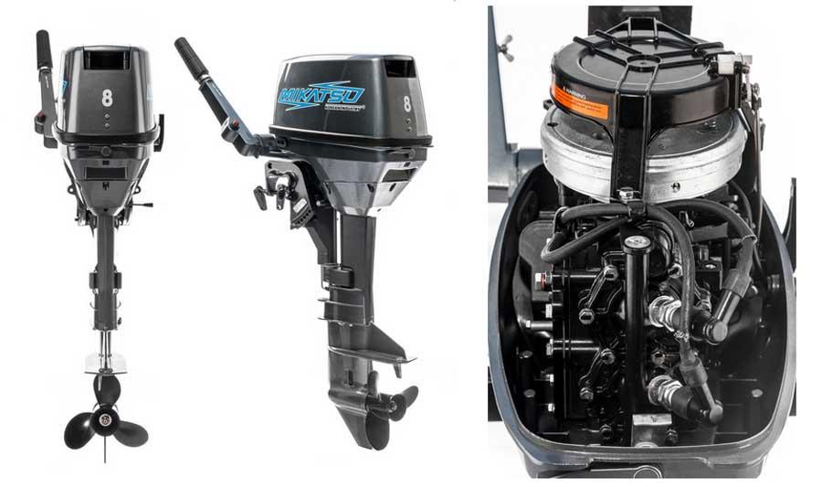Двухтактный двигатель Микацу 8FHS