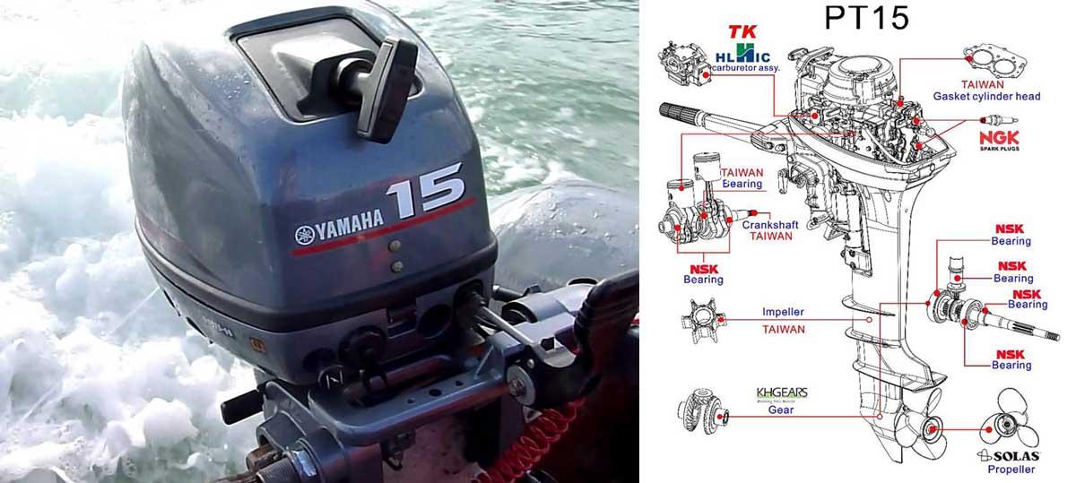 Ремонт лодочных моторов Ямаха