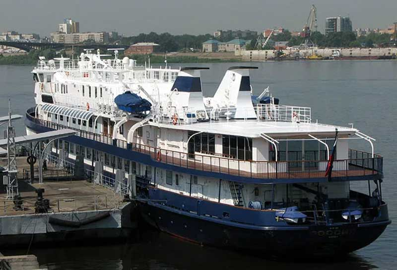 Яхта Россия
