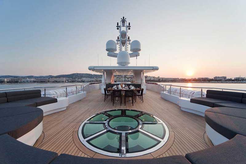 Яхта Сириус