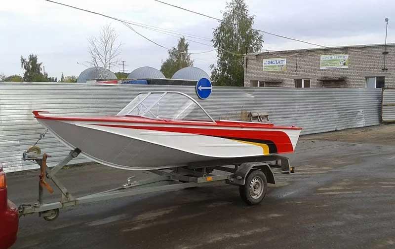 Прицеп для лодки Днепр
