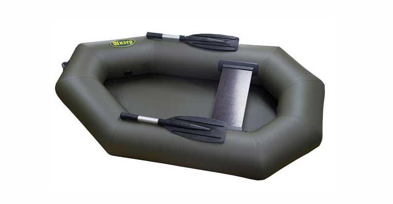 Одноместная ПВХ лодка гребная