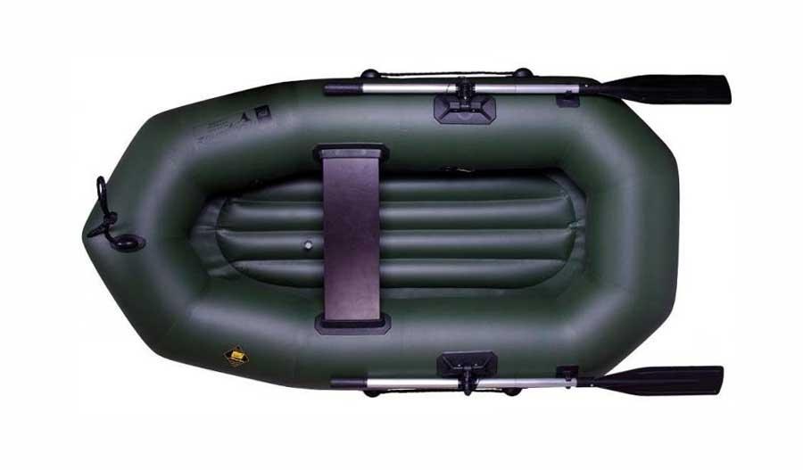 Одноместная лодка ПВХ с надувным дном