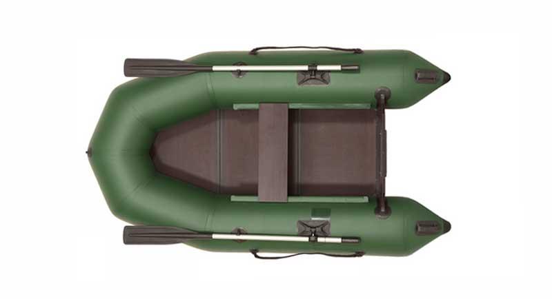 Одноместная лодка ПВХ с жестким дном