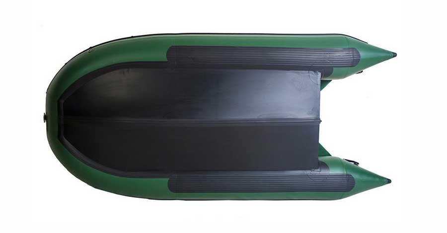 Одноместная лодка ПВХ с килем