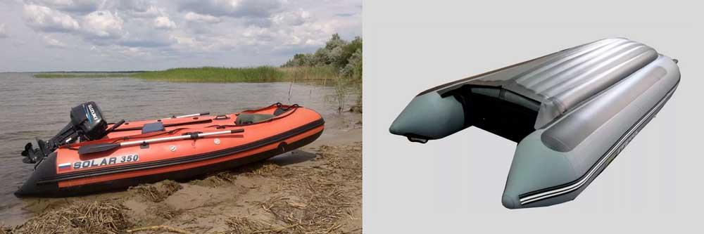 Лодка Солар 350 НДНД