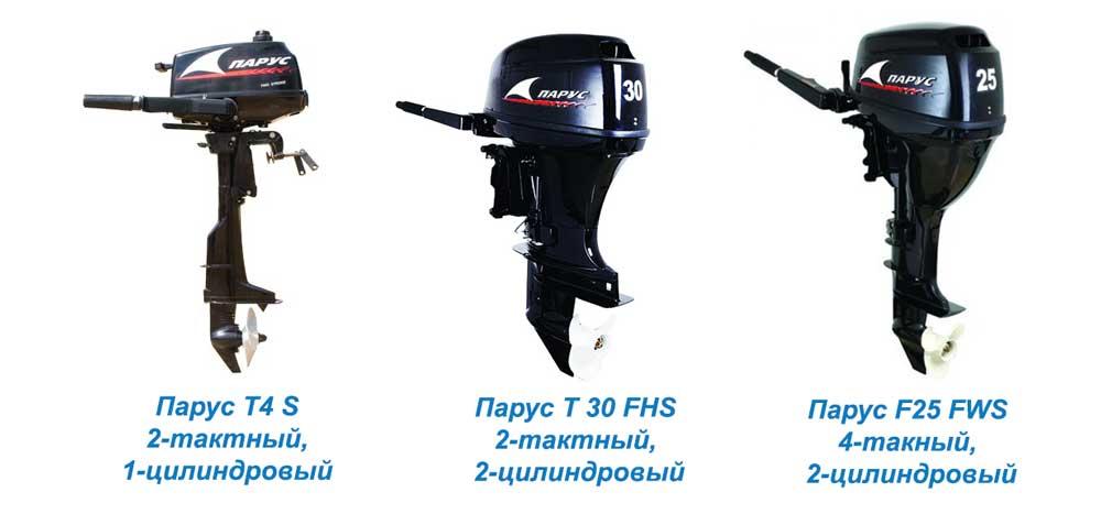 Лодочный мотор российского производства Парус