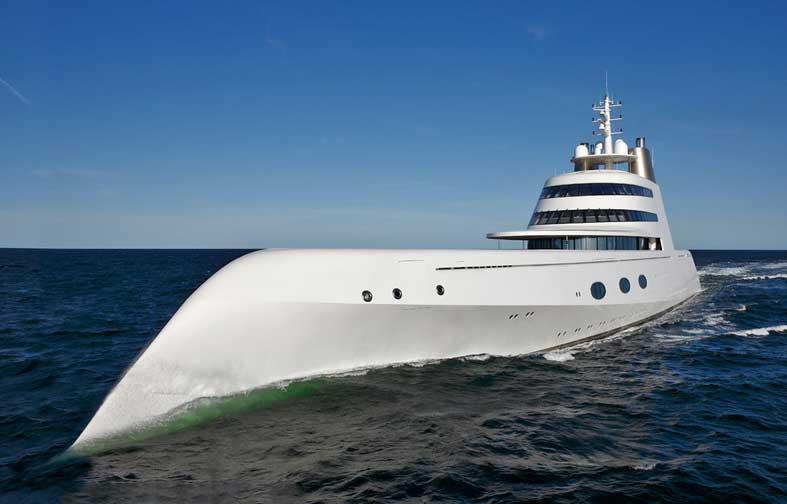 Яхта Андрея Мельниченко Motor Yacht A