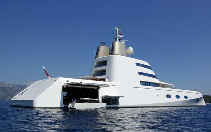 Яхта Мельниченко Motor Yacht A