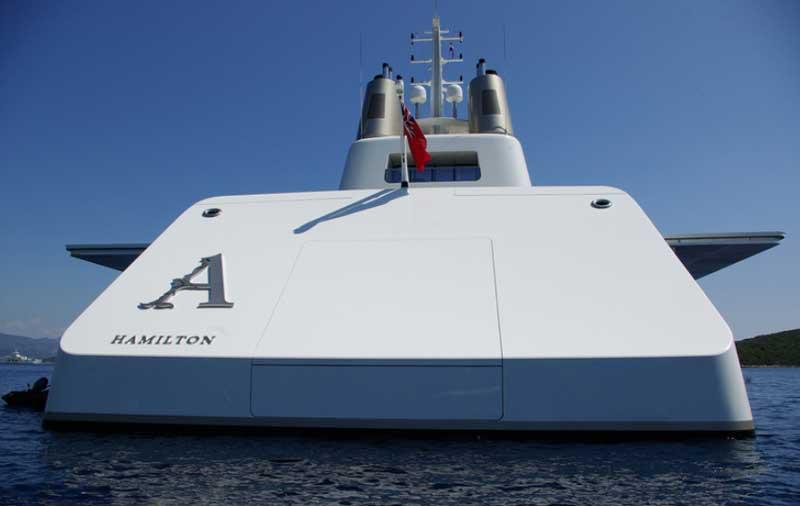 Motor Yacht A Мельниченко